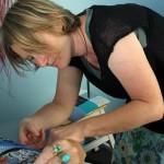 Adele Potter, acupuncturist